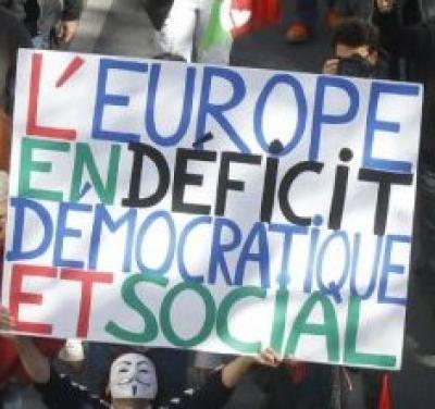Réunion thématique : les mécanismes démocratiques de l'Europe – la dette publique